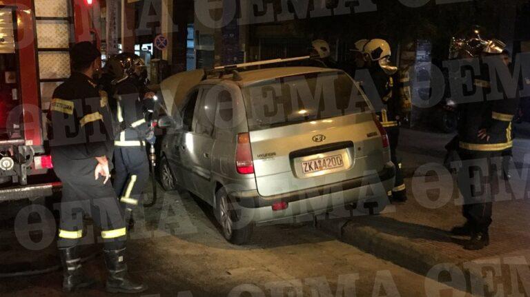 Επίθεση με μολότοφ στο Α.Τ. Ομόνοιας,  τέσσερις αστυνομικοί τραυματίες
