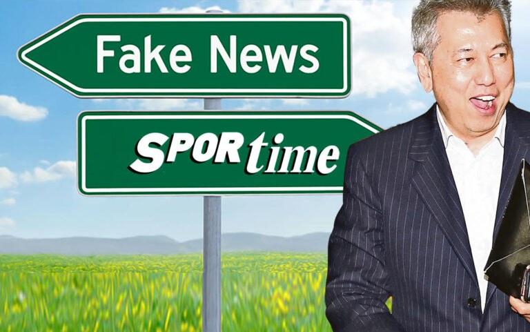FAKE NEWS από το Sportime