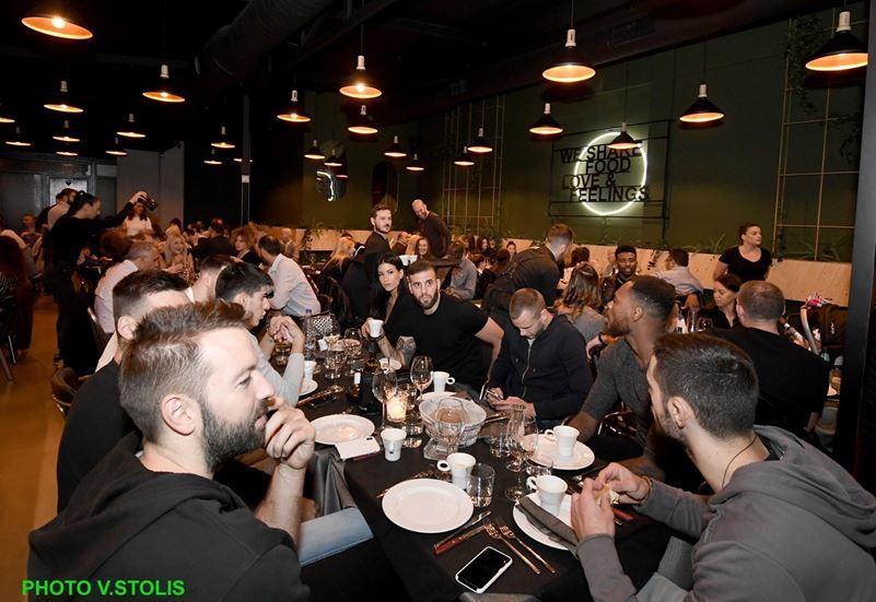 Το δείπνο της ΚΑΕ Παναθηναϊκός στους παίκτες (pics)