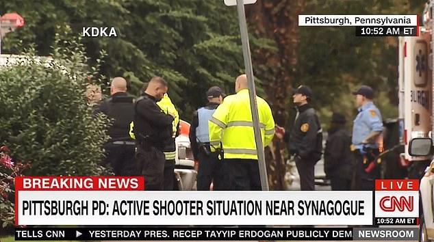 Πίτσμπουργκ: Ένοπλη επίθεση με νεκρούς σε συναγωγή