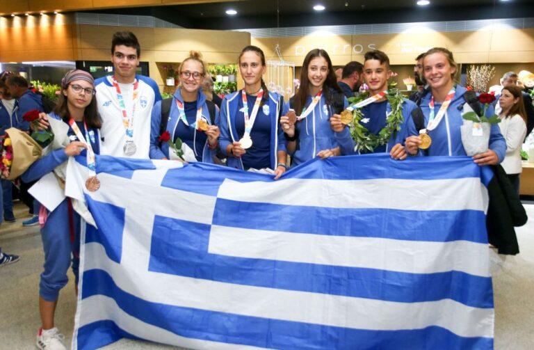 Ολυμπιακοί Αγώνες Νέων: Επέστρεψε η ελληνική αποστολή