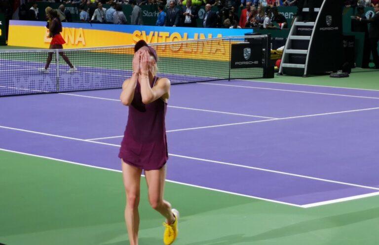 Η Σβιτόλινα είναι η πρωταθλήτρια του WTA Finals!