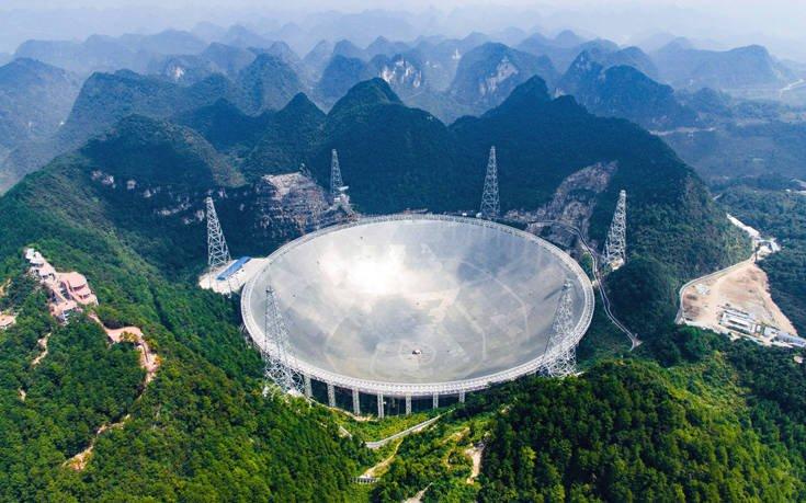 Μέτρα προστασίας στο μεγαλύτερο τηλεσκόπιο στον κόσμο