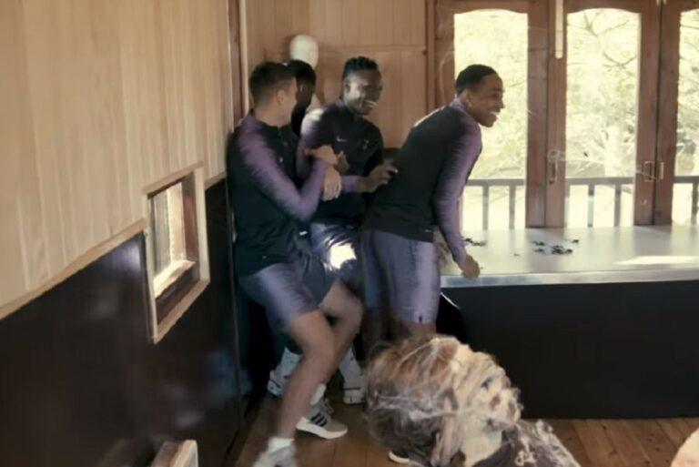 VIDEO: Οι παίκτες της Τότεναμ σε φάρσα για το Halloween