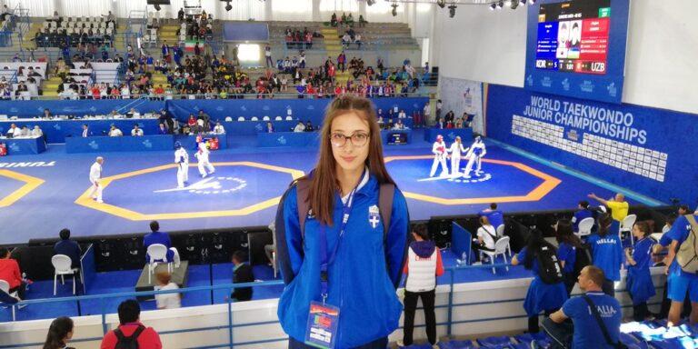 «Χάλκινη» η Τζέλη στους Ολυμπιακούς Αγώνες Νέων