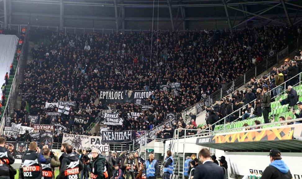 Βίντι-ΠΑΟΚ: Η τρέλα των ΠΑΟΚτσήδων στην «Grupama Arena» (vids)