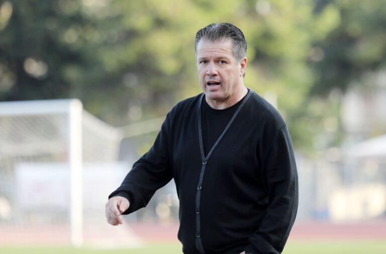 Παπαδόπουλος: «Είμαι υπερήφανος για τους παίκτες μου»