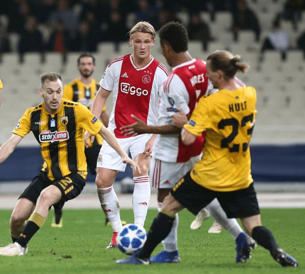 Κάσπερ Ντόλμπεργκ: «Γιατί όχι και τελικό Champions League;». Ο 21χρονος Δανός κυνηγός του Άγιαξ μίλησε αποκλειστικά στο Sportime.gr, για την ΑΕΚ, τον Άγιαξ, αλλά και το μεγάλο του όνειρο