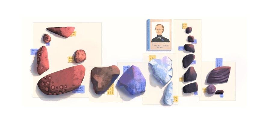Elisa Leonida Zamfirescu   Google doodle αφιέρωμα για τα  131 χρόνια από τη γέννησή της