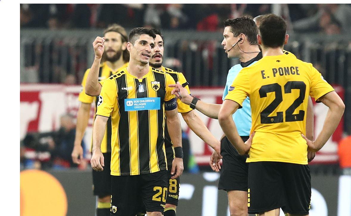Η ΑΕΚ έχασε από διαιτητή και Λεβαντόφσκι