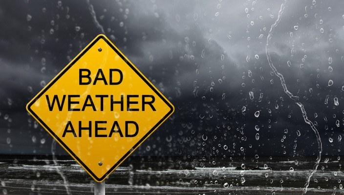 Σε ισχύ έκτακτο δελτίο επιδείνωσης καιρού- Έρχονται Καταιγίδες και χαλάζι