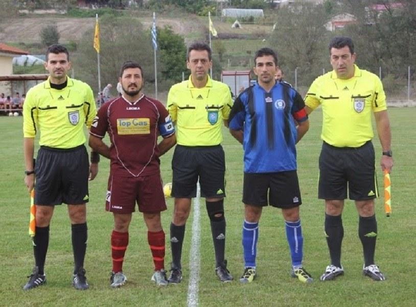 Πρώην ποδοσφαιριστής των Τρικάλων, βοηθός διαιτητή με Κισσαμικό