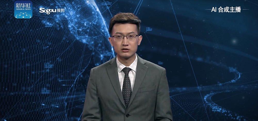 Ο πρώτος εικονικός δημοσιογράφος είπε τις ειδήσεις στο Κινεζικό Πρακτορείο (vid)