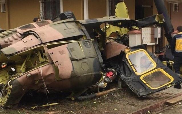 Κωνσταντινούπολη: Συνετρίβη στρατιωτικό ελικόπτερο – Τέσσερις νεκροί (vid)
