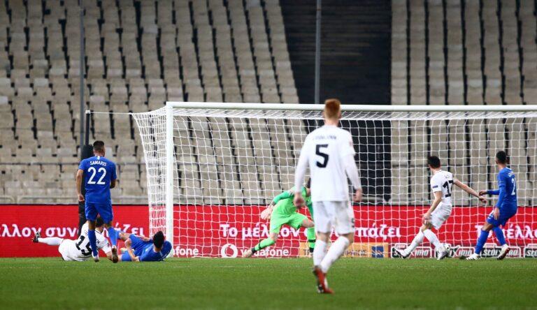 Ελλάδα-Εσθονία 0-1: Φινάλε με ήττα