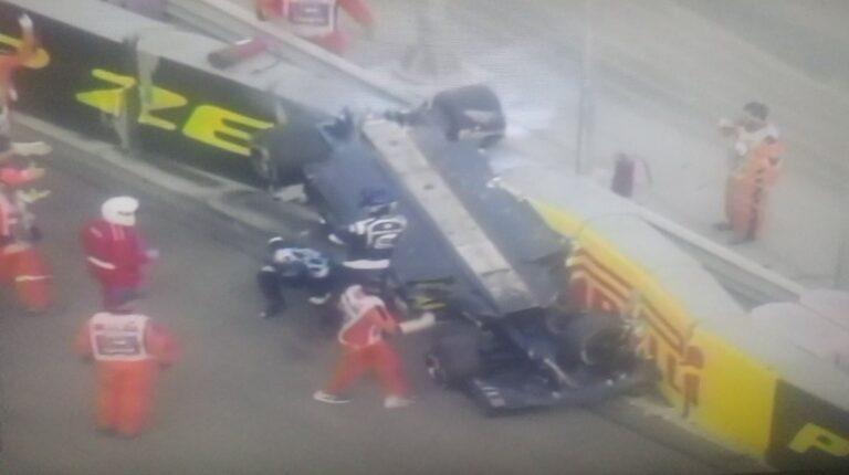Σοκαριστικό ατύχημα στη Formula 1 (pics)