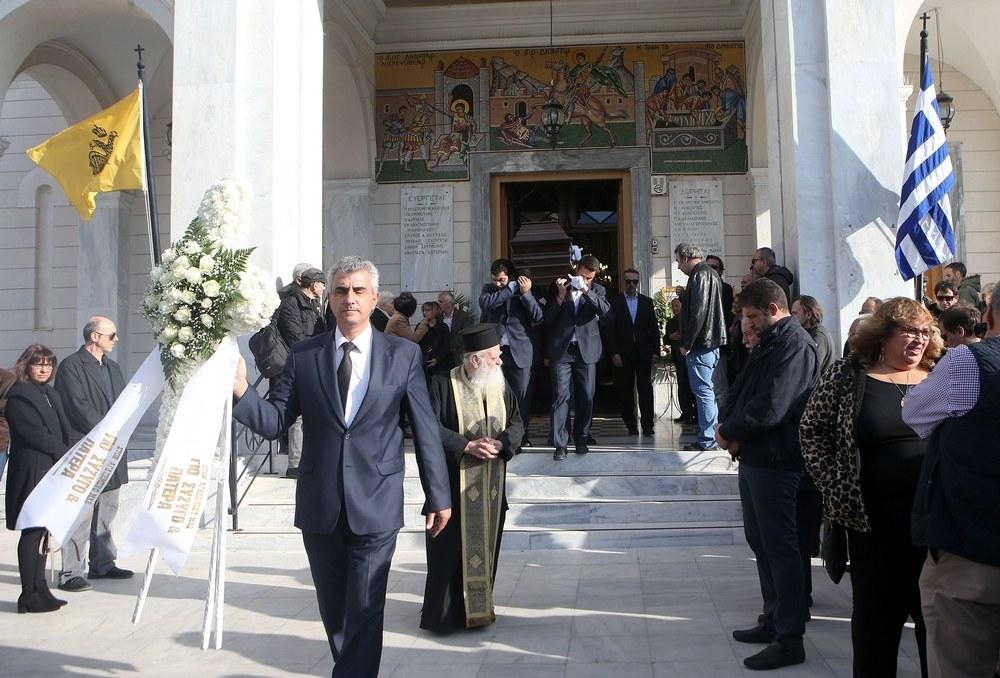 Ολυμπιακός: Το ύστατο χαίρε στον Γιάννη Δήμαρχο (pics)