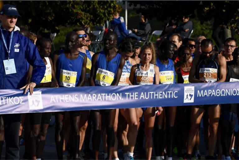36ος Μαραθώνιος Αθήνας: Πρώτος ο Κενυάτης Μπρίμιν Μισόι – Τα αποτελέσματα (Pics)