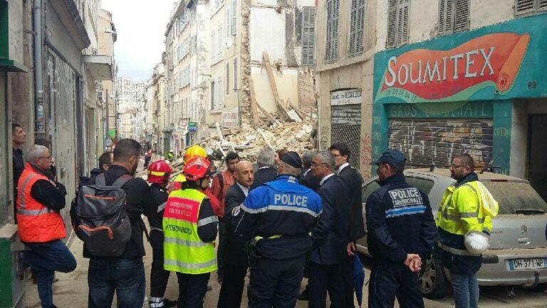 Τουλάχιστον 3 νεκροί μετά την κατάρρευση κτιρίων στη Μασσαλία