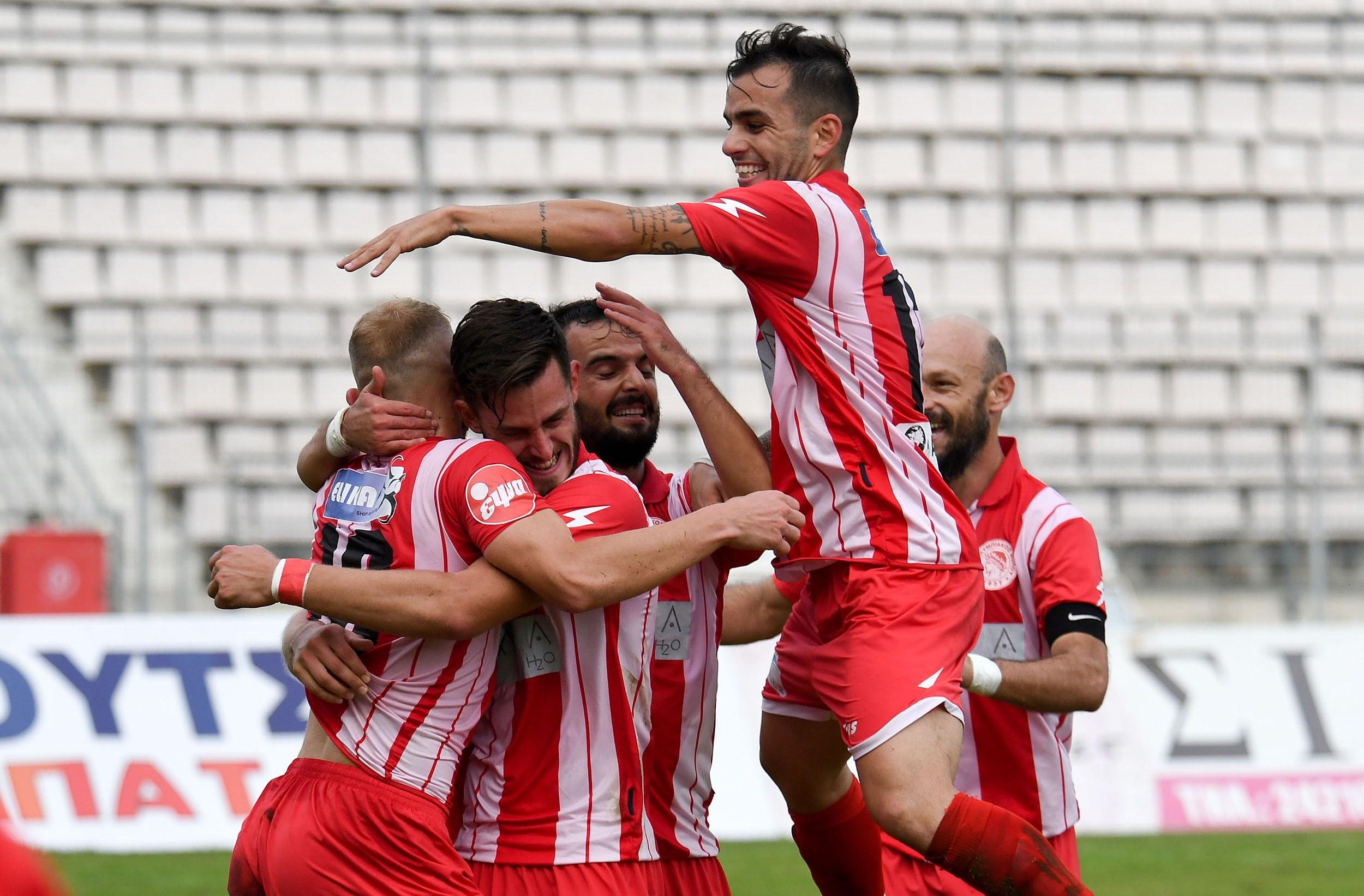 Ο Ολυμπιακός Βόλου διέλυσε με 5-0 τον Απόλλωνα Μακρυχωρίου