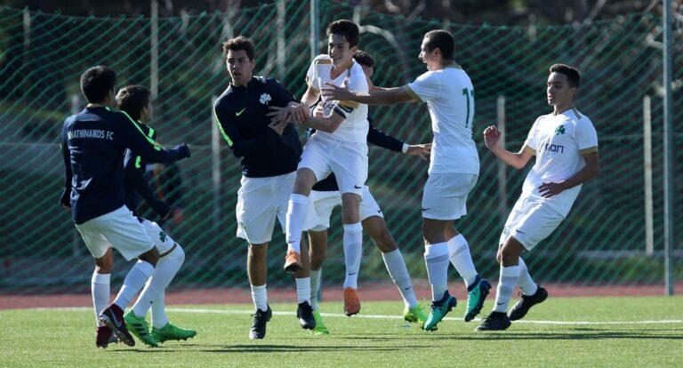 Super League Κ17: ΑΕΚ-Παναθηναϊκός 1-3