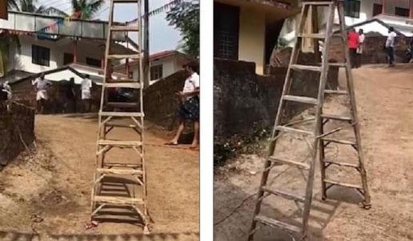 Η καταραμένη σκάλα που κινείται μόνη της (vid)