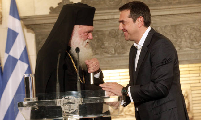 Συμφωνία Κράτους- Εκκλησίας:Αντιδράσεις από τους Μητροπολίτες Σπάρτης και Μαντινείας (vid)