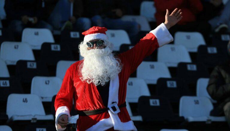 Ο Άγιος Βασίλης παίζει φορ στον ΠΑΟΚ!