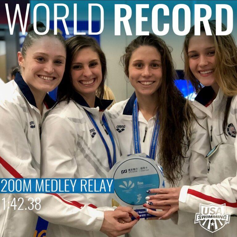 Παγκόσμιο πρωτάθλημα κολύμβησης: Δύο ρεκόρ οι Αμερικανοί