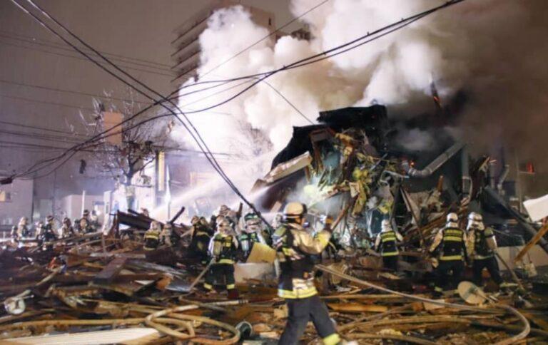 Ιαπωνία: Ισοπεδώθηκε εστιατόριο από ισχυρή έκρηξη