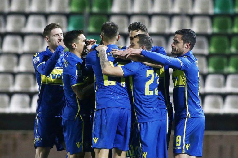 Λεβαδειακός – Αστέρας Τρίπολης 0-2: Μεγάλο διπλό