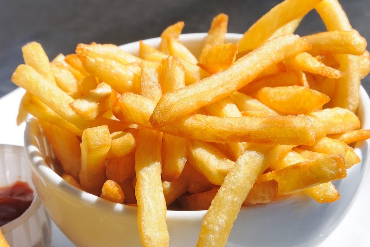 Έξι τηγανητές πατάτες μπορεί να συμβάλλουν στη μακροζωία