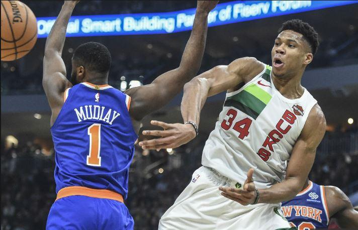 NBA: Εκπληκτικός Γιάννης κόντρα στους Νικς!(vid)