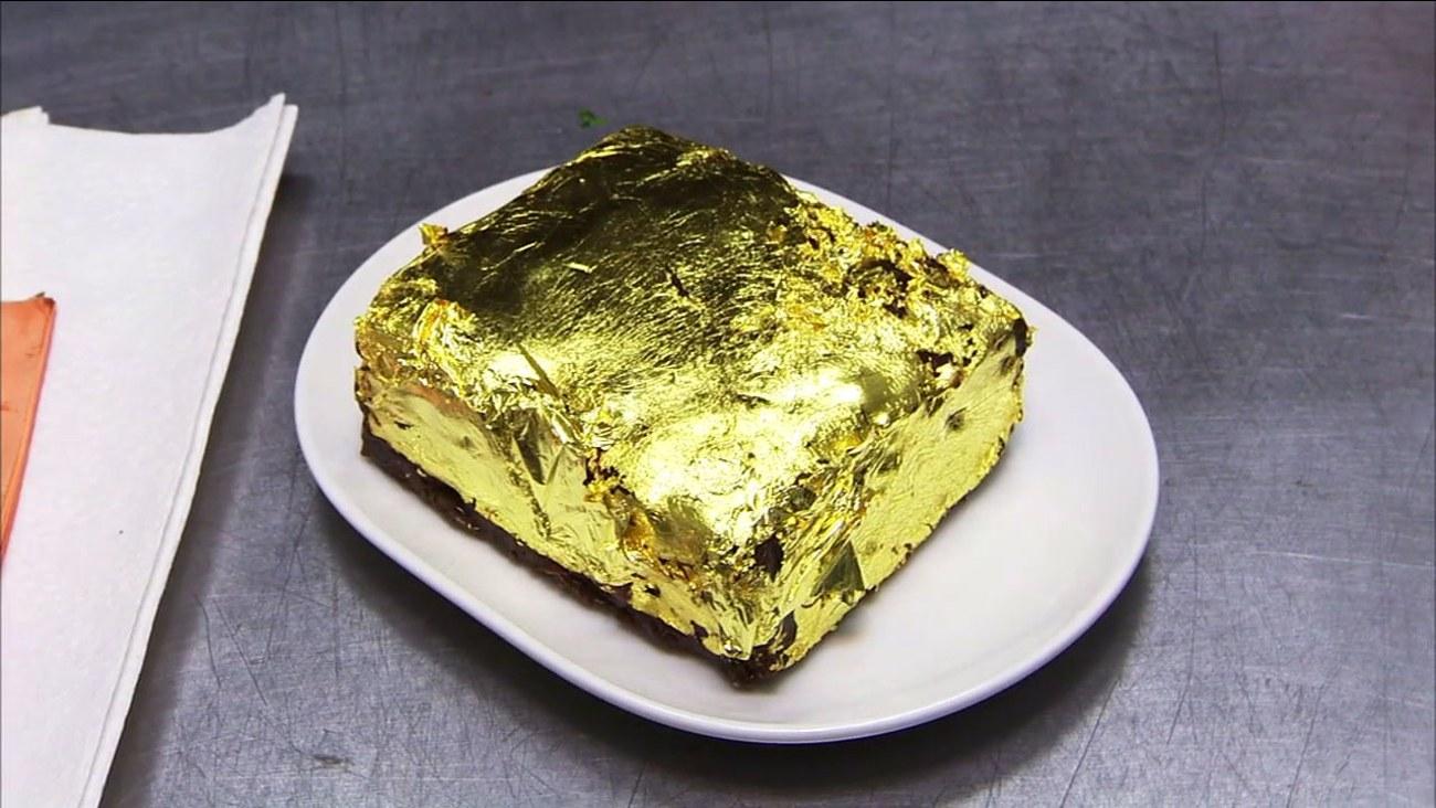 Το χρυσό brownie των 500 δολαρίων (vid)