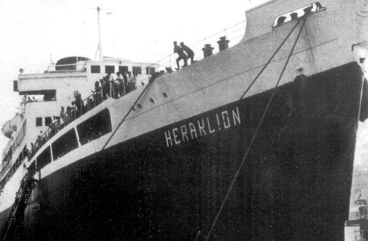 Το ναυάγιο του «Ηράκλειον» στη Φαλκονέρα (video)