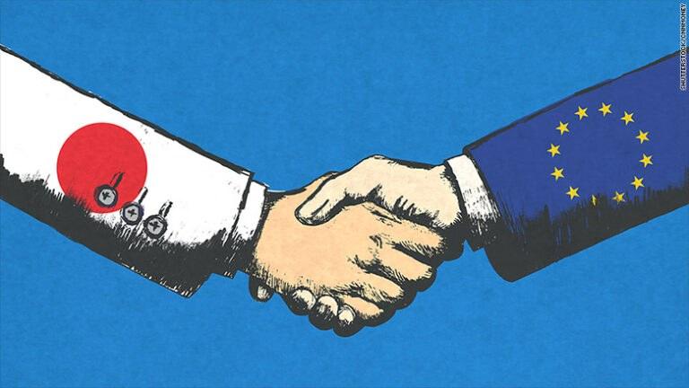 Ιστορική εμπορική συμφωνία μεταξύ Ε.Ε. και Ιαπωνίας