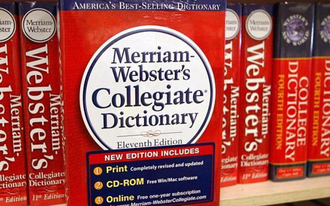 Το λεξικό Merriam- Webster ανακήρυξε τη λέξη της χρονιάς