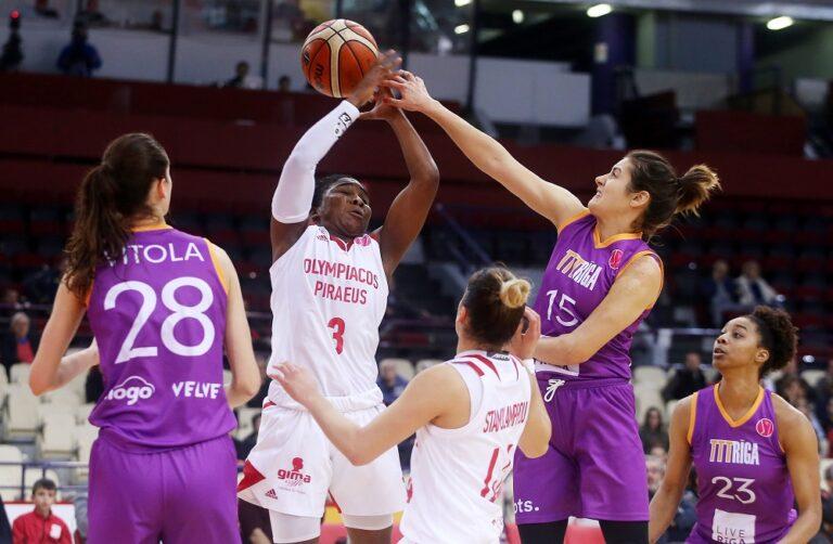 Euroleague Γυναικών: Παρέμεινε χωρίς νίκη ο Ολυμπιακός