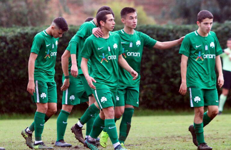 Super League Κ17: ΟΦΗ-Παναθηναϊκός 0-6