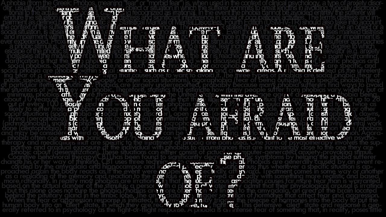 Δέκα παράξενες φοβίες που δεν ξέρατε πως έχετε (vid)