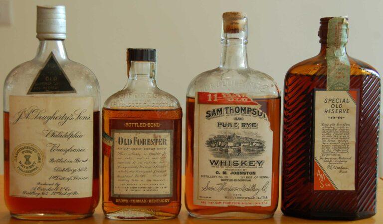 Σπάνια ουίσκι προ-ποτοαπαγόρευσης προσφέρουν μια γεύση αμερικανικής ιστορίας (pics)
