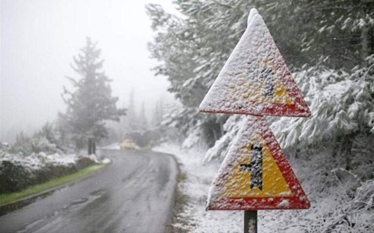 Χιόνια την Τρίτη στην Αττική περιμένει ο Καλλιάνος