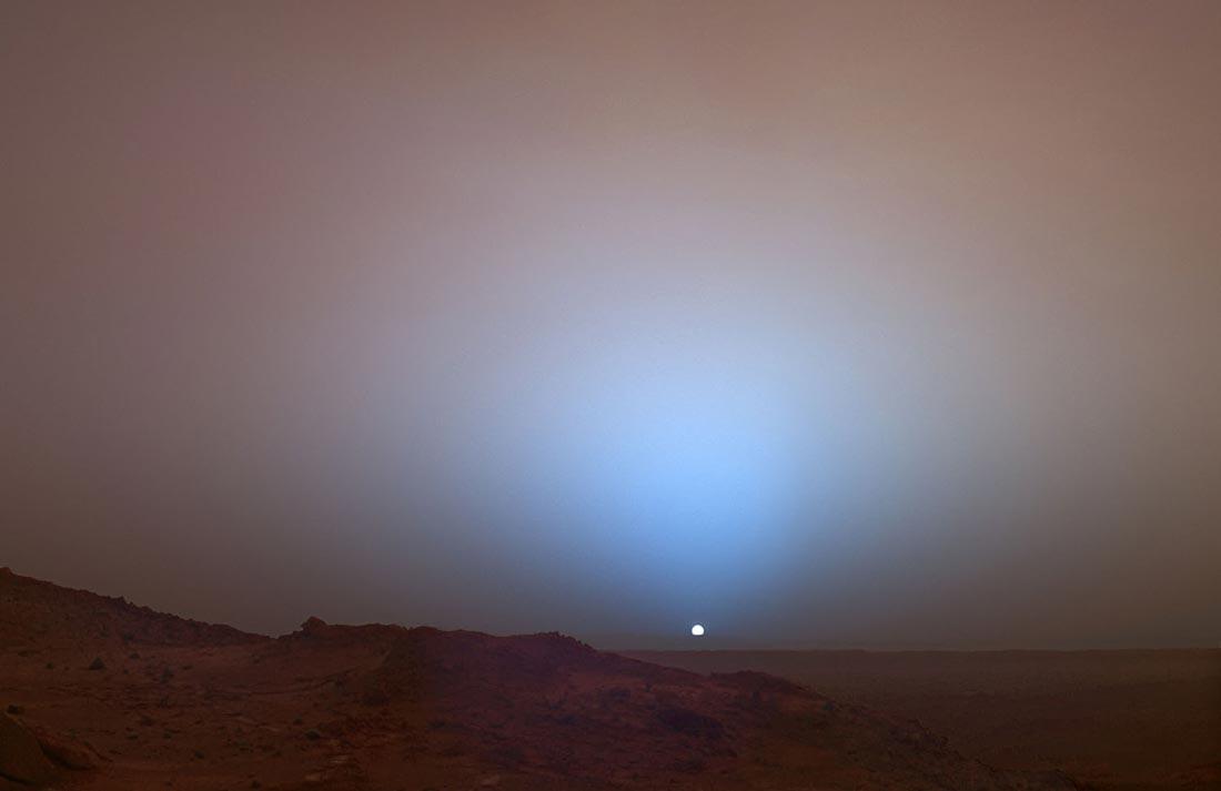 Δείτε το πρώτο αρειανό ηλιοβασίλεμα που είδε ο άνθρωπος (vid)