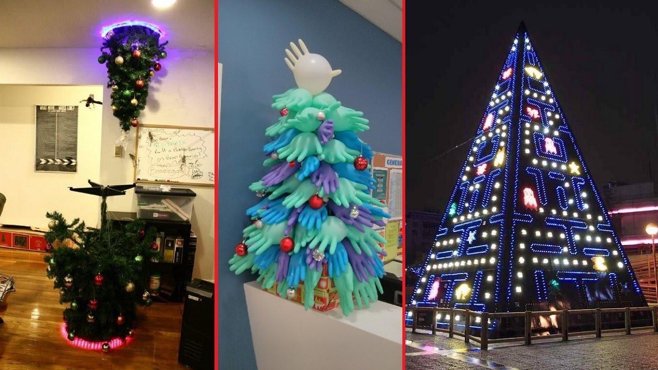 Τα δέκα πιο παράξενα χριστουγεννιάτικα δέντρα (vid)
