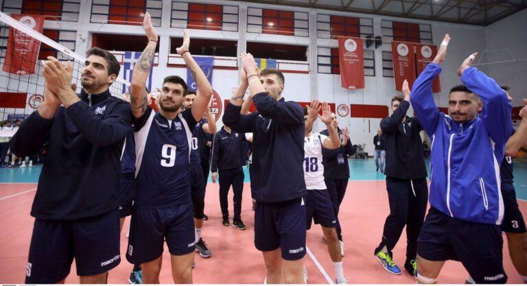 Βόλεϊ: Η 14άδα της Εθνικής ανδρών για το Λουξεμβούργο