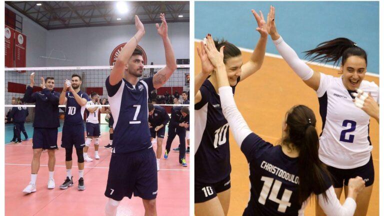 Βόλεϊ: Live τα παιχνίδια των Εθνικών μας ομάδων