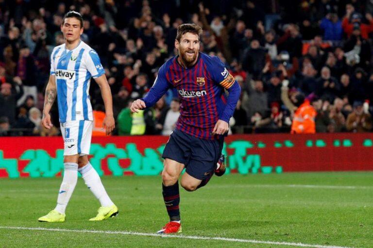 La Liga: Ο Μέσι «καθάρισε» και πάλι για την Μπαρτσελόνα