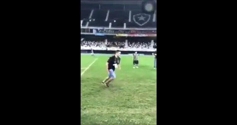 Τυπάρα στη Βραζιλία μιμήθηκε τον Ρονάλντο και έφαγε τα μούτρα του (video)