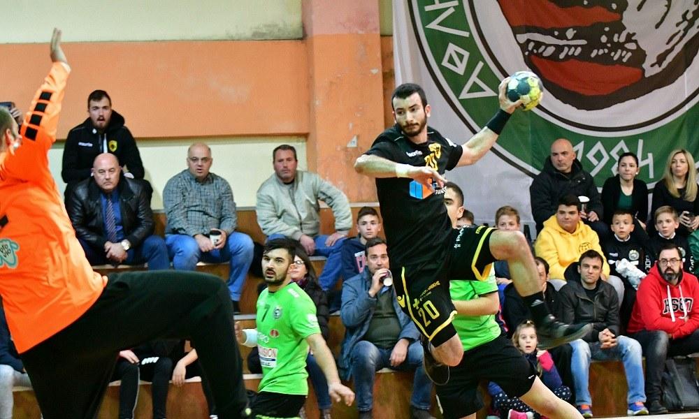Διομήδης – ΑΕΚ 14-23: Στο ρελαντί πήγε τελικό