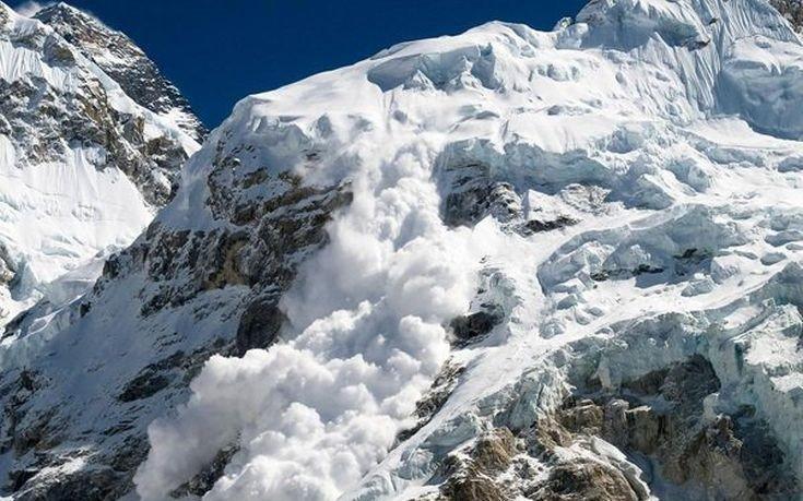 «Κόλαση του χιονιού» οι Άλπεις